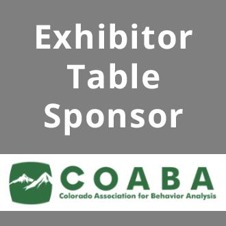 Exhibitor Table Sponsor